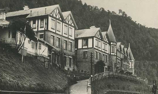 Mount Everest Hotel Darjeeling in its early days